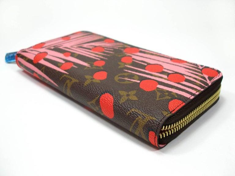 Brown Louis Vuitton Zippy Jungle Wallet, 2016   For Sale
