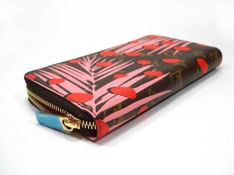 Women's Louis Vuitton Zippy Jungle Wallet, 2016   For Sale