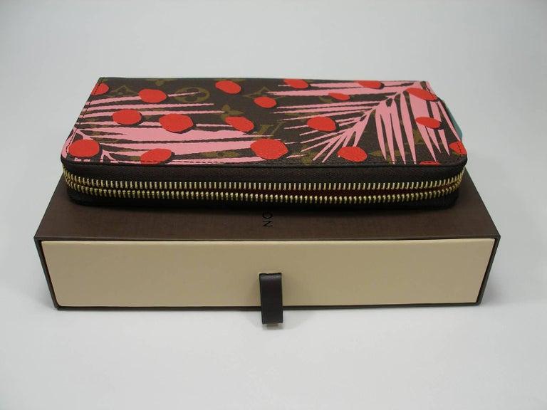 Louis Vuitton Zippy Jungle Wallet, 2016   For Sale 3