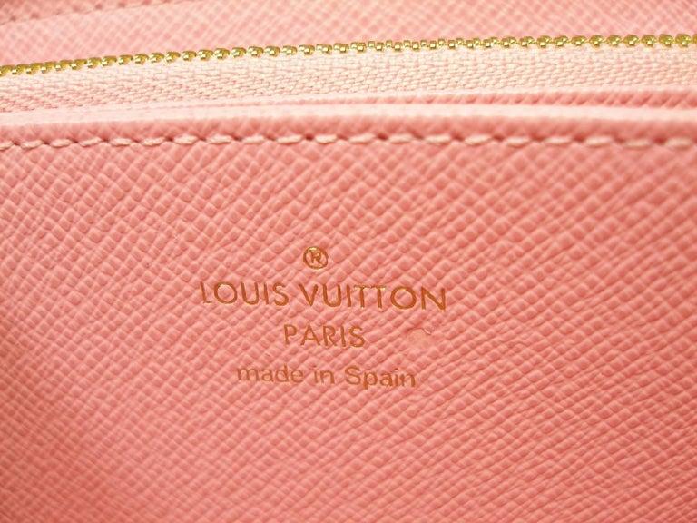 Louis Vuitton Zippy Jungle Wallet, 2016   For Sale 4