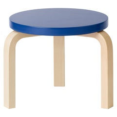 Limited Edition Low Stool 60 in Moonstone by Artek and Heath, 1stdibs NY
