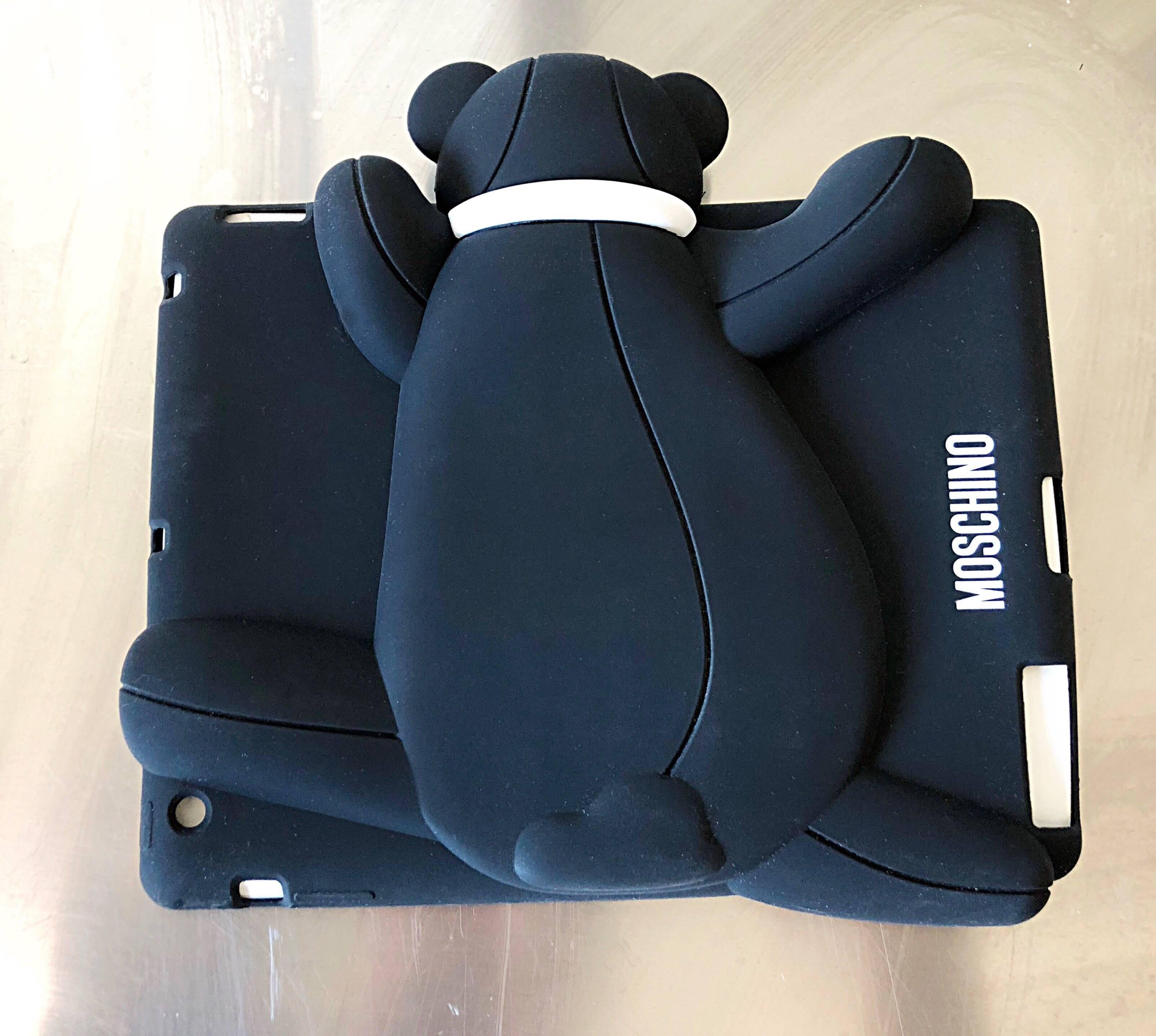 Moschino Limited Edition Moschino Sold Out Ipad 2, 3, 4 Case Panda Bear Rare Novelty