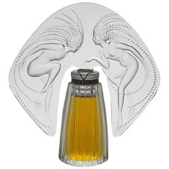 "Limited Edition ""Ondines"" Perfume Bottle by Marie-Claude Lalique"