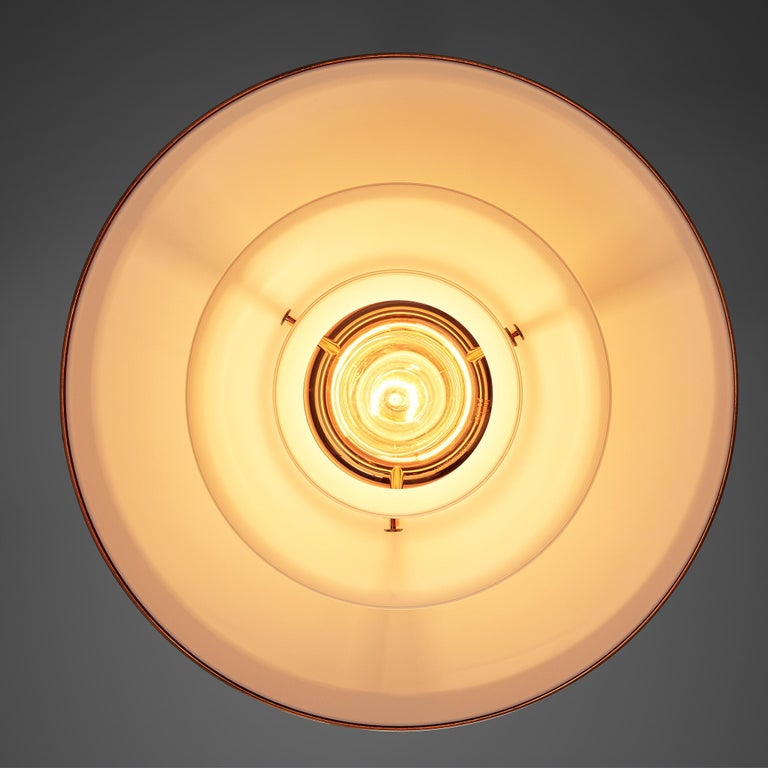 Limited Edition Poul Henningsen PH 3 1/2 Pendant in Copper For Sale 1