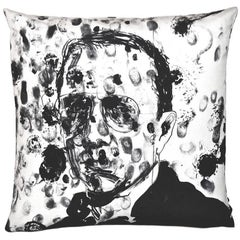 Limited Edition Robert Knoke Bruce Labruce Art Pillow Throw Cushion by Henzel