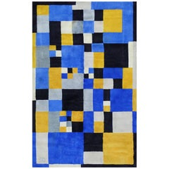 Limited Edition Rug after Sonia Delaunay, Magical Squares