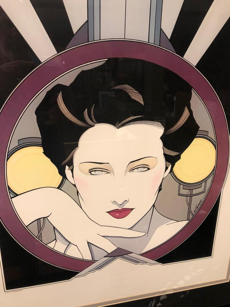 American Limited Edition Serigraph by Patrick Nagel