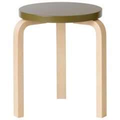 Limited Edition Standard Stool 60 in Rosemary by Artek and Heath, 1stdibs NY
