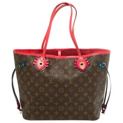 "Limited Edition ""Totem""-Neverfull MM Tote in Monogram canvas with pouch"