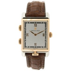 Limited Edition Universal Geneve Golden Janus Gold and Platinum Watch
