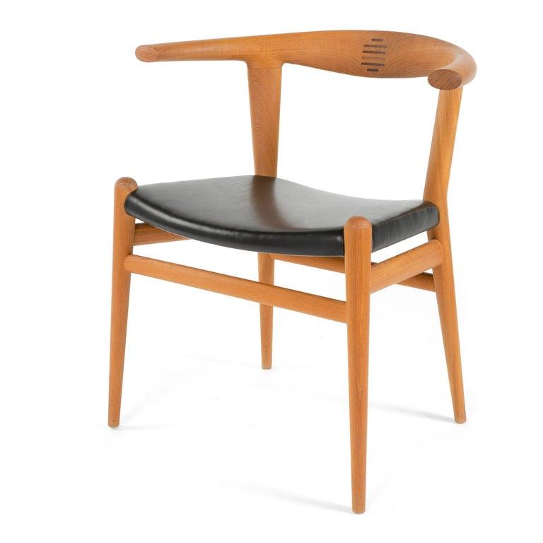 Scandinavian Modern PP518 Limited Production Bullhorn Chair Set of 8 by Hans J. Wegner for PP Møbler For Sale