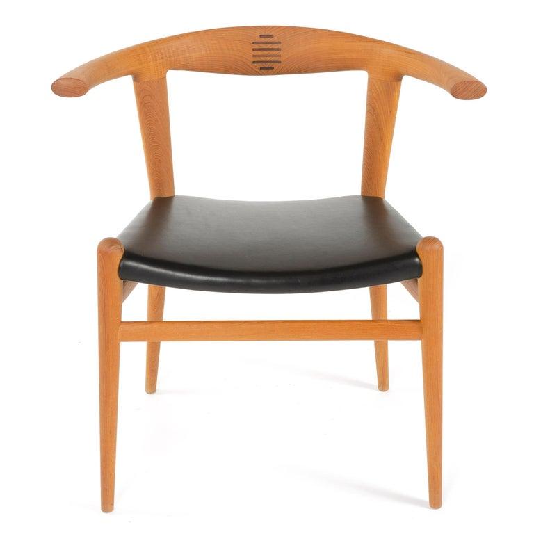 Danish PP518 Limited Production Bullhorn Chair Set of 8 by Hans J. Wegner for PP Møbler For Sale