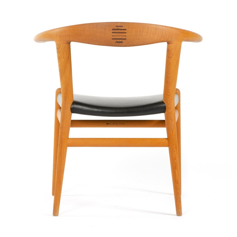 Mid-20th Century PP518 Limited Production Bullhorn Chair Set of 8 by Hans J. Wegner for PP Møbler For Sale