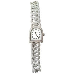"Limited Ralph Lauren Watch Diamonds Modell ""Stirrup"" Manual Winding"