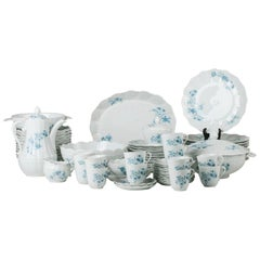 Limoges Giraud Service, Porcelain from France, Mid-20th Century
