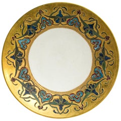 Limoges Hand Painted Plate