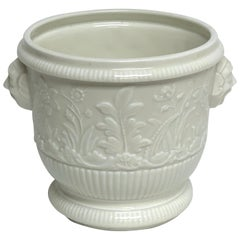 Limoges 'St Cloud 1725-40' Blanc de Chine Cachepot/Wine Cooler