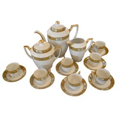 Limoges Tea Set, Service for 6, Plus 1