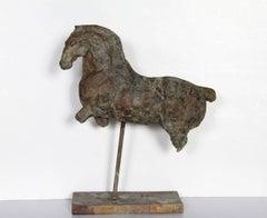 Constelación Del Caballo Menor, Bronze Tabletop Sculpture by Binkele