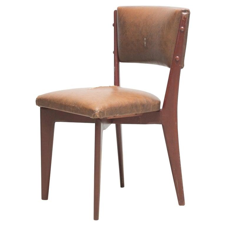 "Lina Bo Bardi ""C12"" Dining Chair for Studio d´Arte Palma, circa 1950 For Sale"