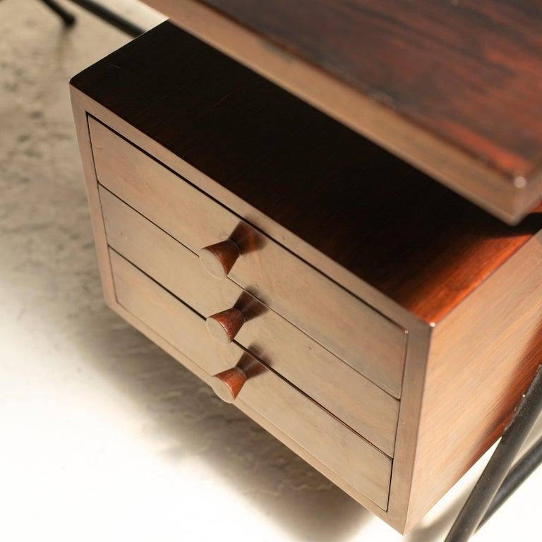 Lina Bo Bardi Writing Desk for Studio d'Arte Parma For Sale 3