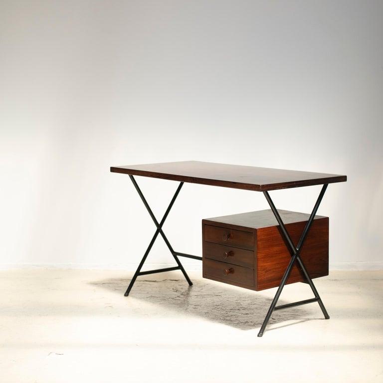 Brazilian Lina Bo Bardi Writing Desk for Studio d'Arte Parma For Sale