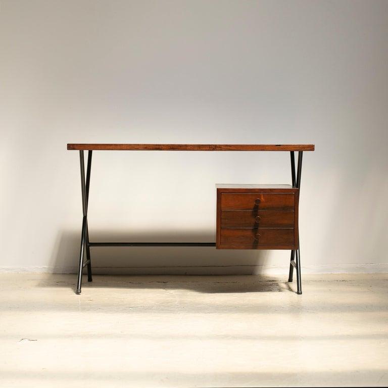 Mid-20th Century Lina Bo Bardi Writing Desk for Studio d'Arte Parma For Sale