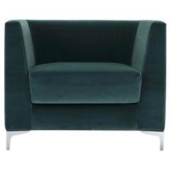 Lincoln Blue-Green Armchair