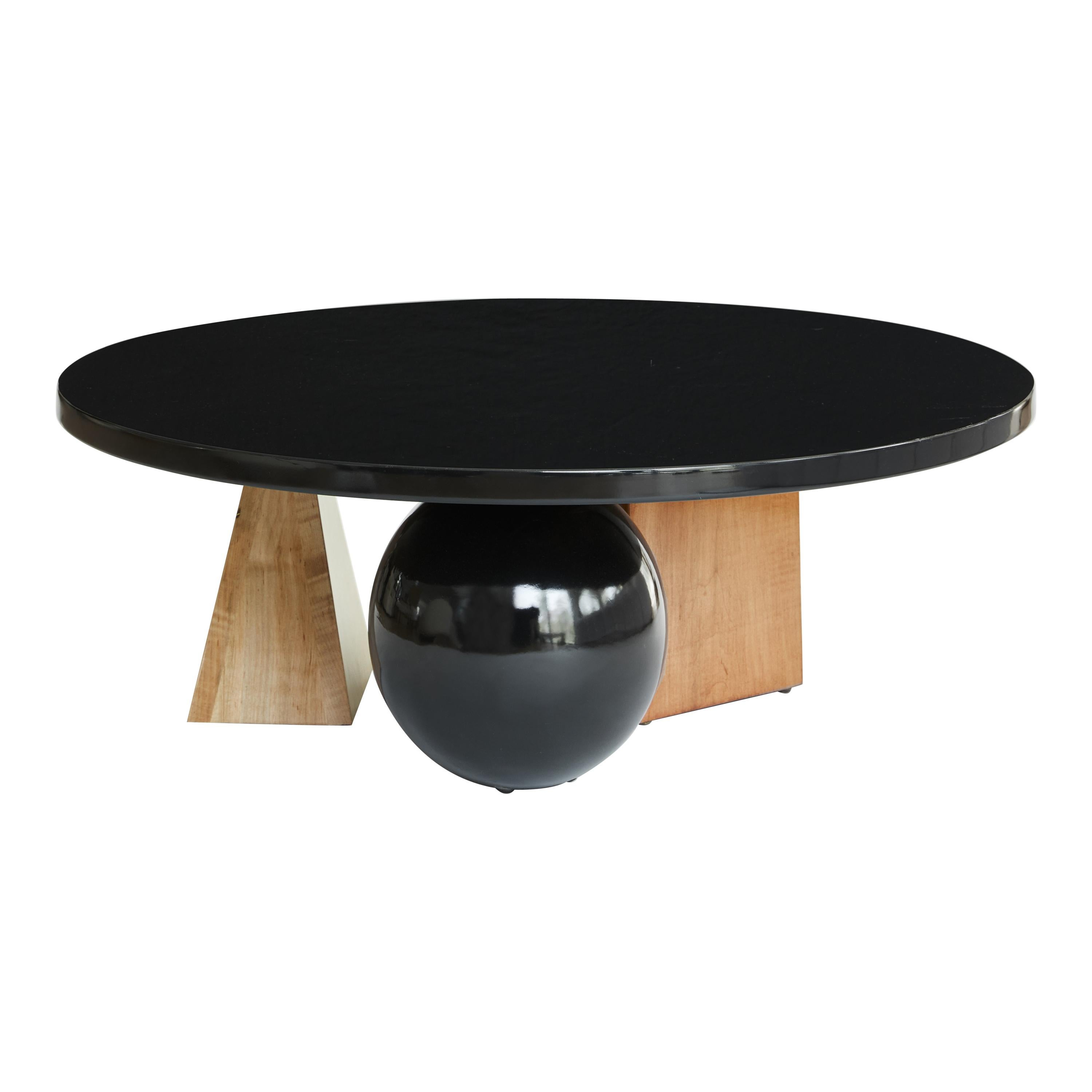 Lincoln Coffee Table, Low Coffee Table by Christian Siriano