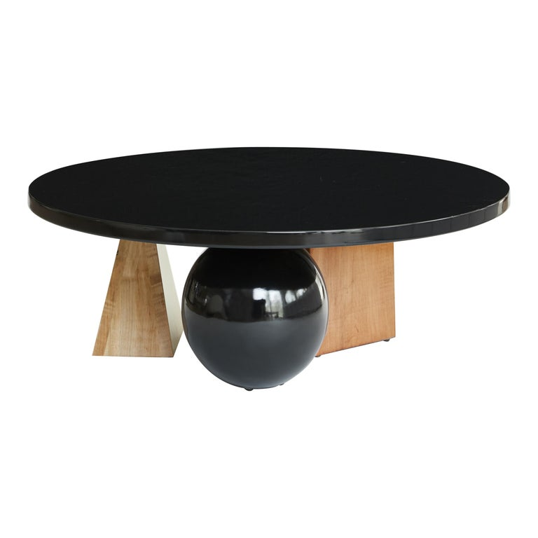 Lincoln Coffee Table, Low Coffee Table by Christian Siriano For Sale