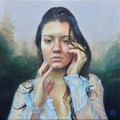 """Undine"" Oil Painting"