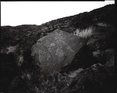 Linda Connor, Winged Star Being, New Mexico, 1995, Petroglyph National Monument