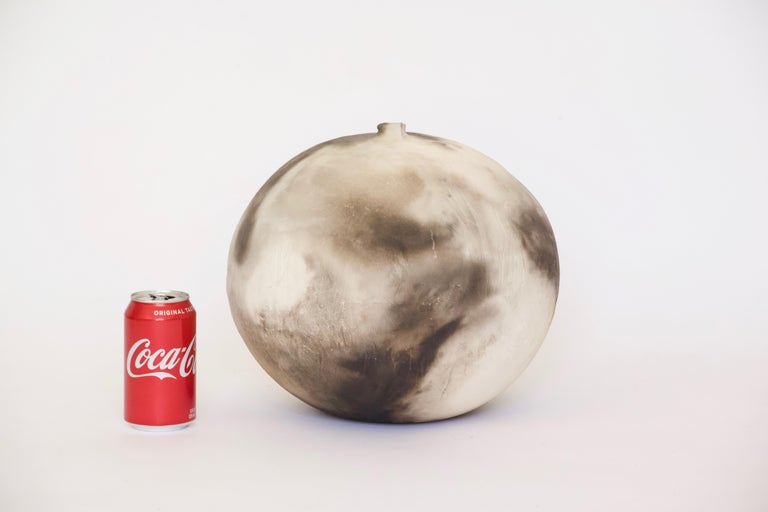 Linda Coward Ceramic Moonpot with Internal Rattle, 1983 For Sale 2