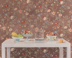 Still Life with Chinese Wallpaper