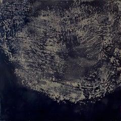 Stratum II - Contemporary Encaustic Painting (Blake + Grey)