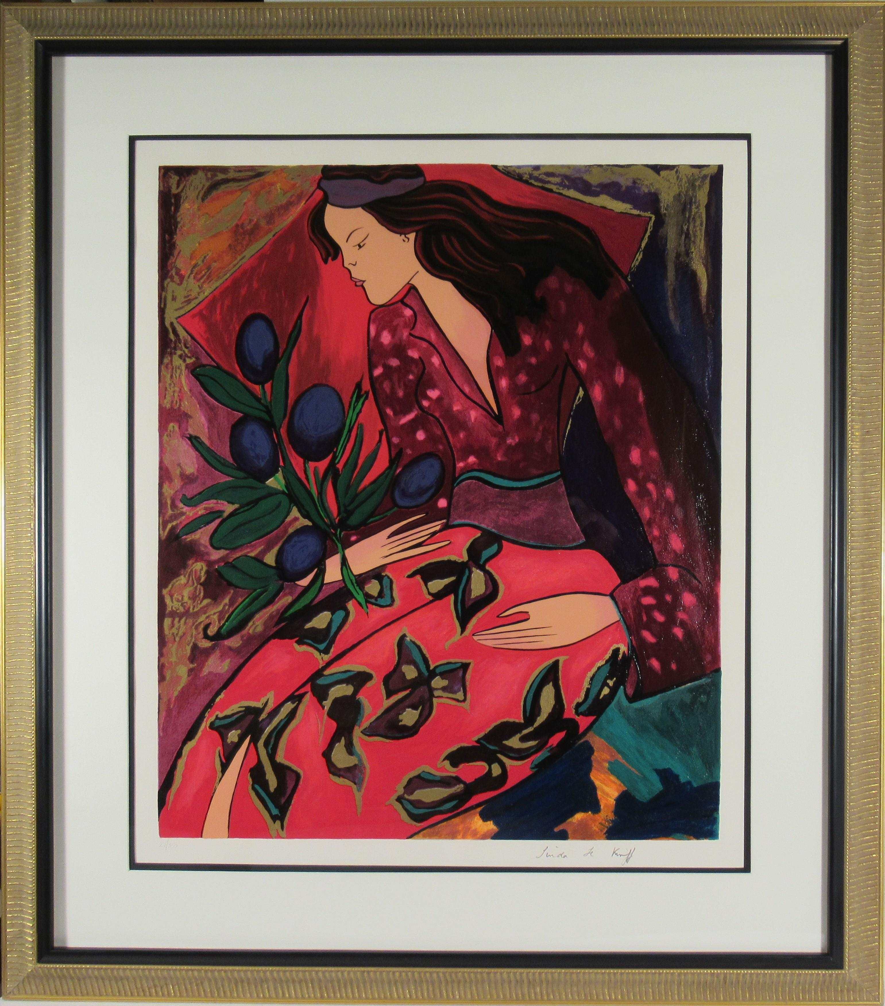 Untitled, Woman with Tulips