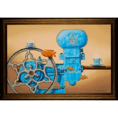 Little Blue Steam Engines