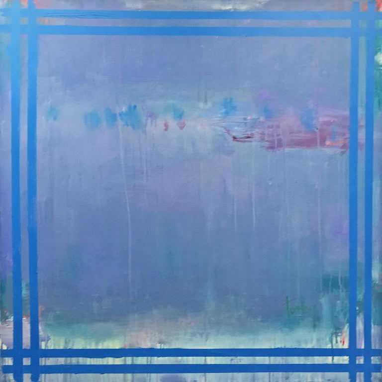 Linda Touby Abstract Painting -  Je T'aime 11