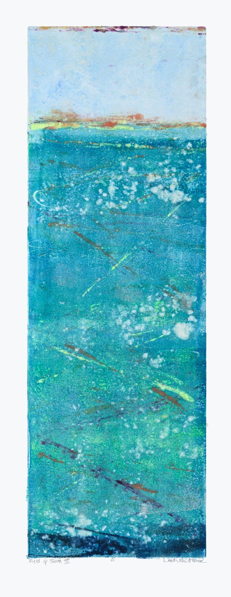 """""""Field of Truth III 'E"""" Mixed Media Abstract by Maui Artist - Mixed Media Art by Linda Whittemore"""