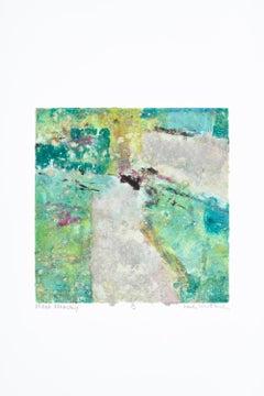 """Flash Memory 'B'"" Mixed Media Abstract by Maui Artist"
