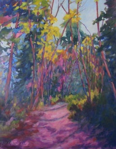 Forest Jewel, Painting, Oil on Canvas