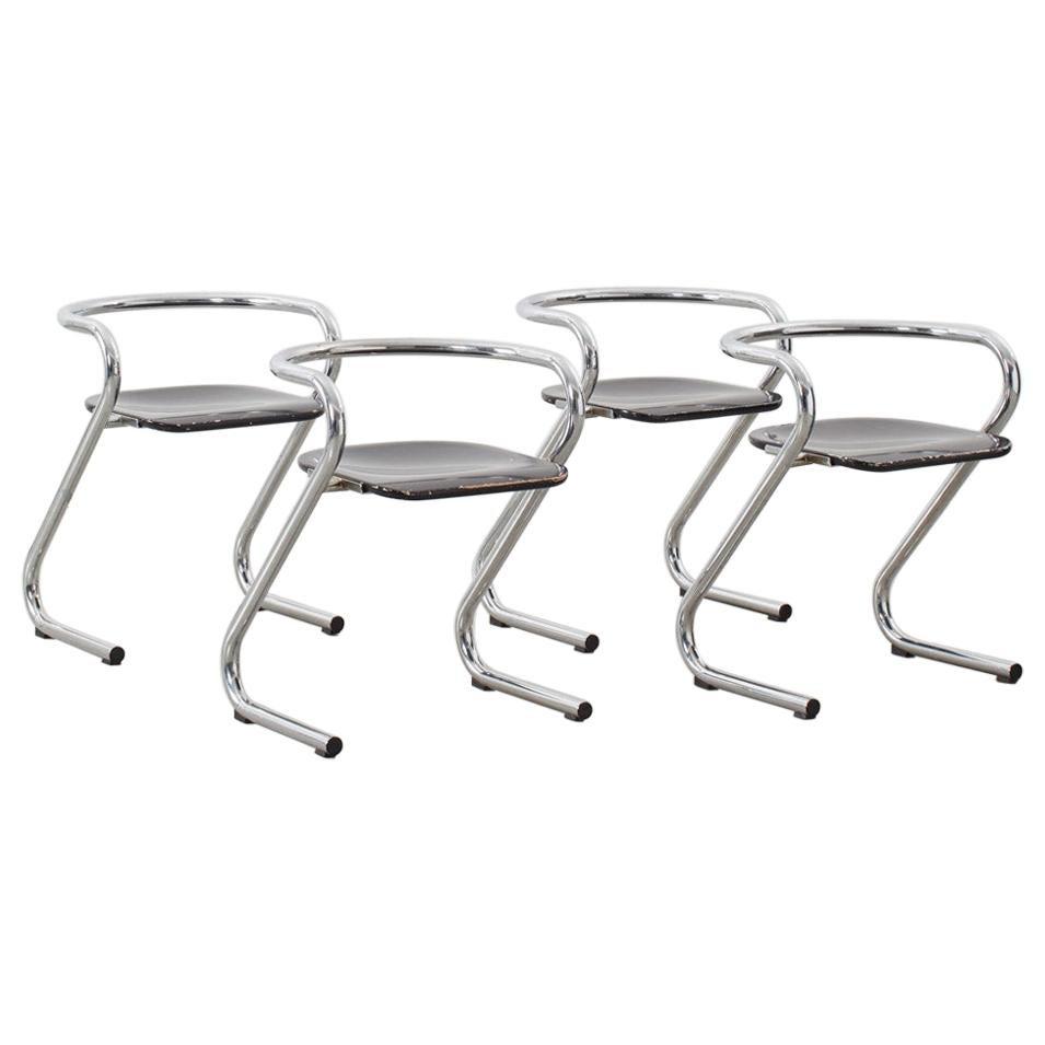 Lindau & Lindekrantz S70 Chairs for Lammhults, Sweden, 1968