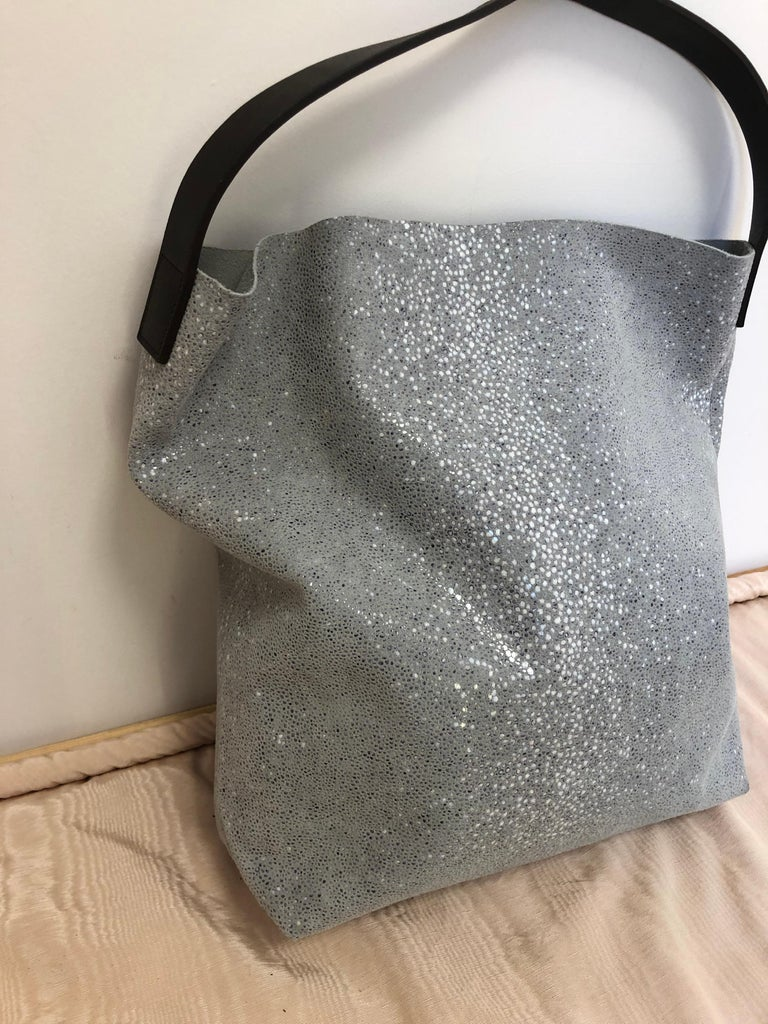 Linde Gallery St Barths Milou Hobo Bag by C and F Linde.  Made in France  For Sale 3