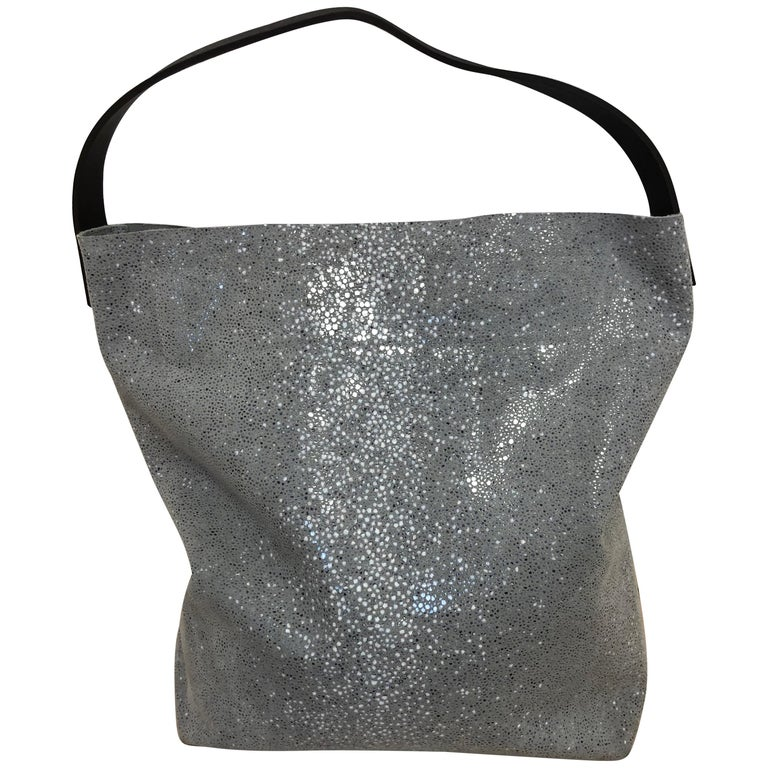 Linde Gallery St Barths Milou Hobo Bag by C and F Linde.  Made in France  For Sale