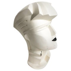 Lindsey B Balkweill Sculpture 80s Fashion Mannequin Head Home Decor Original