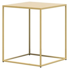 Line End Table in Ochre