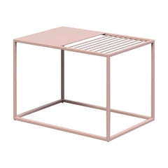 Line Magazine Caddy in Rose