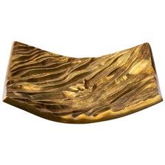 """Line Vautrin, Gilded Bronze Pocket Emptier """"La Mer"""""""