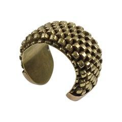 Line Vautrin Massive Gilt Cuff Bracelet