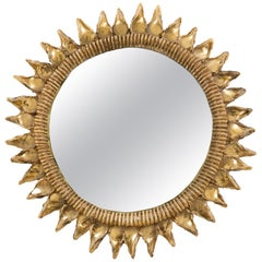 Line Vautrin Mirror 'Chardon' 20th Century